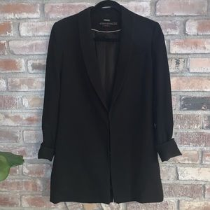 Alice+olivia black blazer